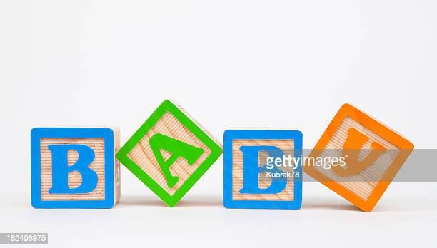 Baby wooden blocks
