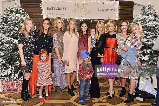 Baby2Baby Angels Jessica Capshaw Jessica Alba Molly Sims Baby2Baby copresident Kelly Sawyer Patricof Baby2Baby copresident Norah Weinstein Rachel Zoe...