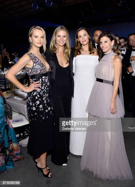 Baby2Baby CoPresident Kelly Sawyer Patricof honoree Gwyneth Paltrow Jennifer Garner and Baby2Baby CoPresident Norah Weinstein attend The 2017...