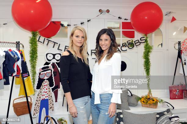 Baby2Baby founders Kelly Sawyer Patricof and Norah Weinstein attend Little Marc Jacobs Celebration benefitting Baby2Baby on March 9 2017 in Los...