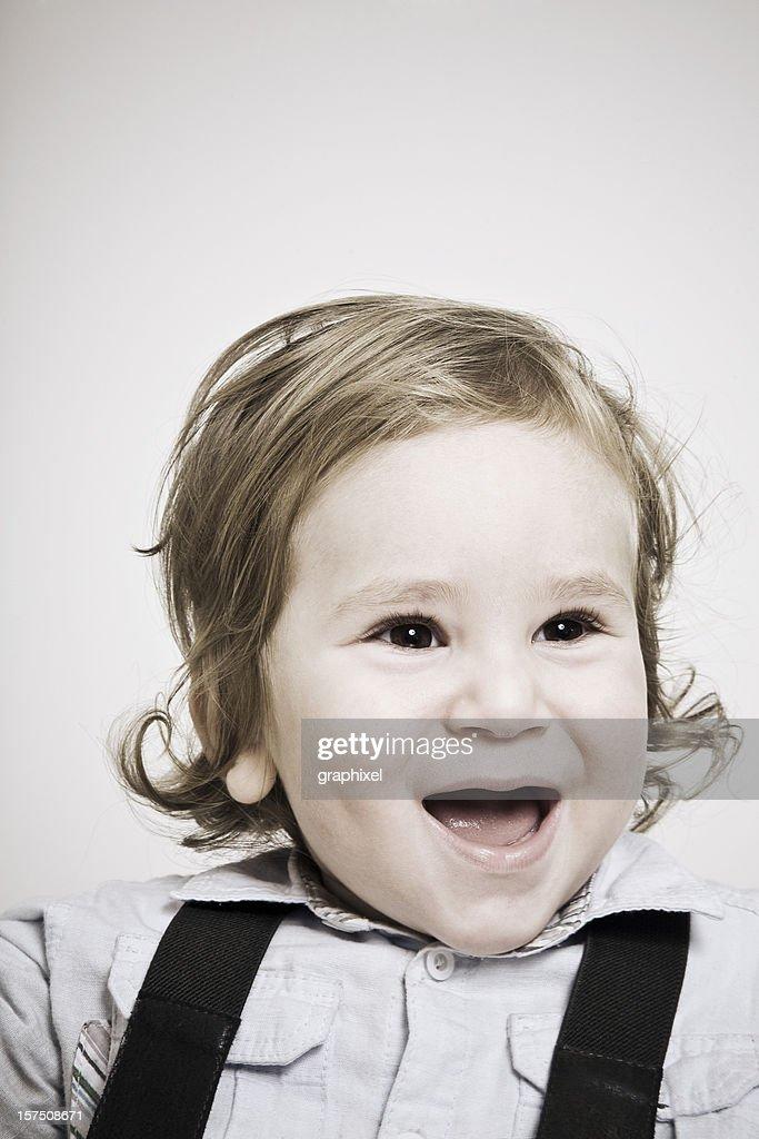Babyboy Portrait : Stock Photo