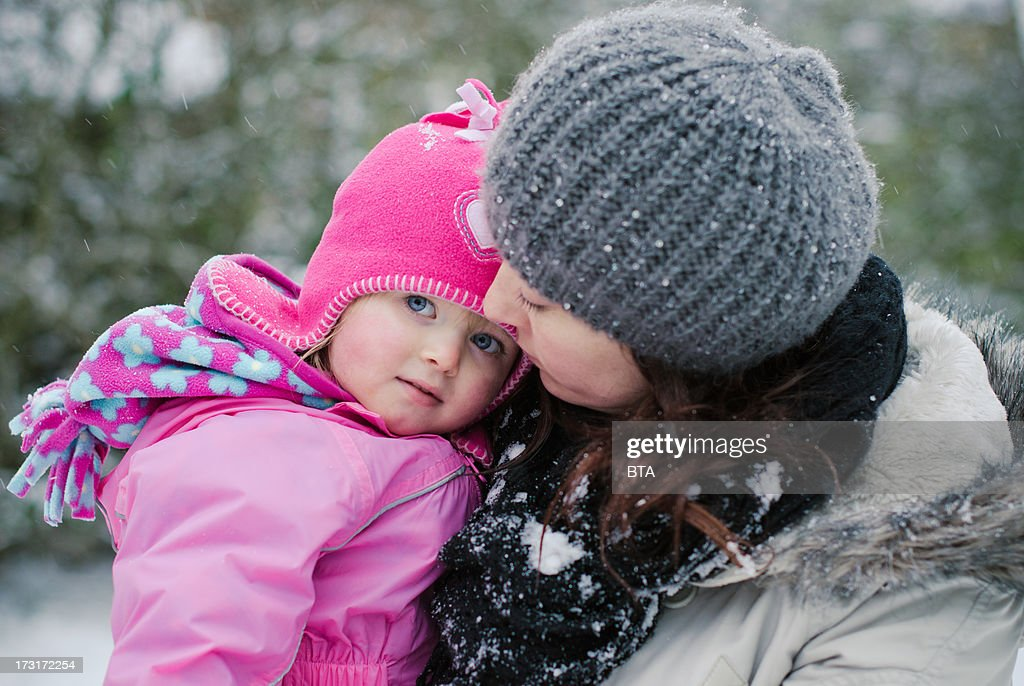 Babygirl with her Mummy : Stock Photo