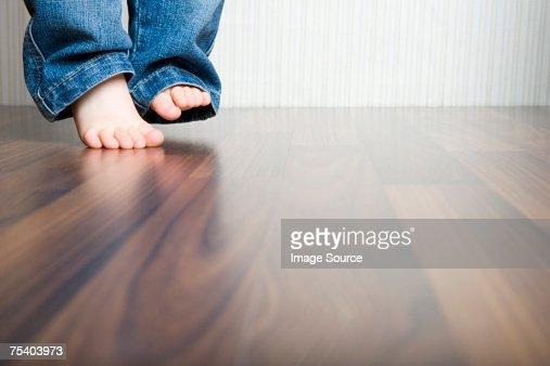 Babys feet : Stock Photo