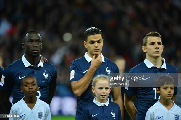 Bacary SAGNA / Hatem BEN ARFA / Lucas DIGNE Angleterre / France Photo Dave Winter / Icon Sport
