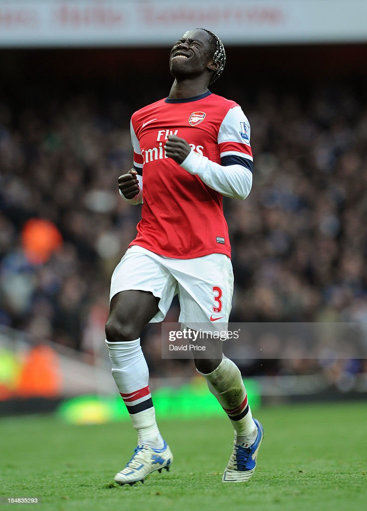 <a gi-track='captionPersonalityLinkClicked' href=/galleries/search?phrase=Bacary+Sagna&family=editorial&specificpeople=745680 ng-click='$event.stopPropagation()'>Bacary Sagna</a> of Arsenal competes during the Barclays Premier League match between Arsenal and Queens Park Rangers, at Emirates Stadium on SOctober 27, 2012 in London, England.