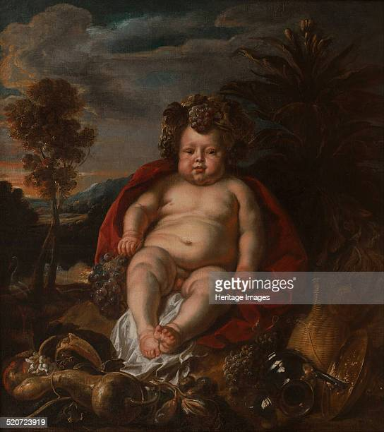Bacchus as a child Found in the collection of Wilanów Palace Museum
