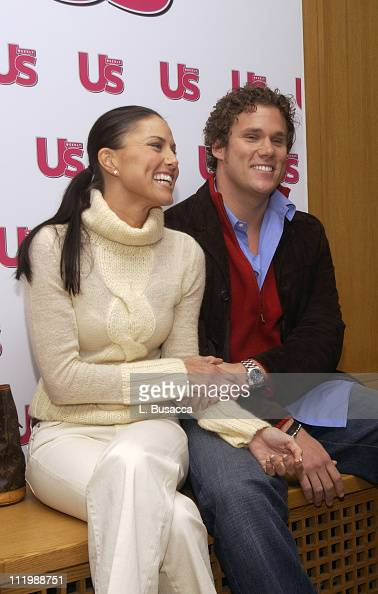 Bachelor Bob Guiney and Estella Gardinier during 'The Bachelor' Bob Guiney and Estella Gardinier Attend Luncheon in Their Honor Hosted by US Magazine...