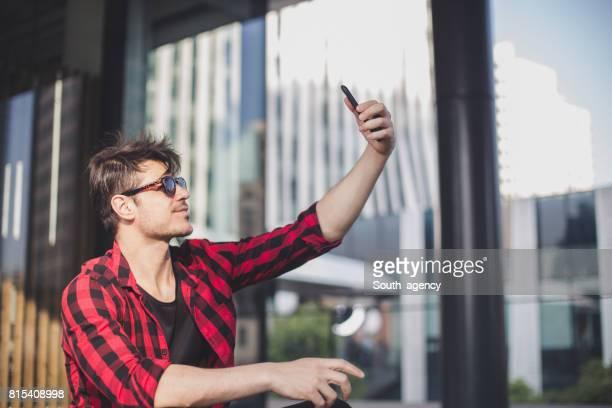Baccalauréat en faisant selfie