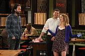 UNDATEABLE 'A Bachelorette Party Walks Into a Bar' Episode 308A Pictured Chris D'Elia as Danny Brent Morin as Justin Bridgit Mendler as Candace