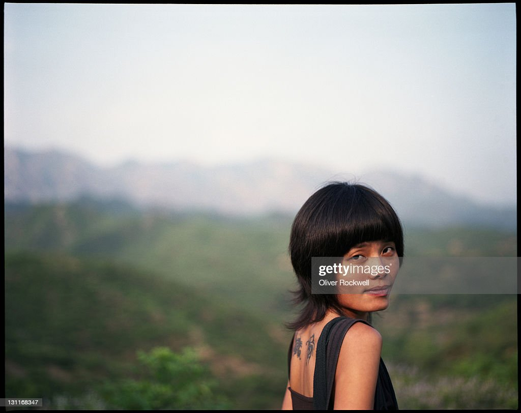 Back flip valley : Stock Photo