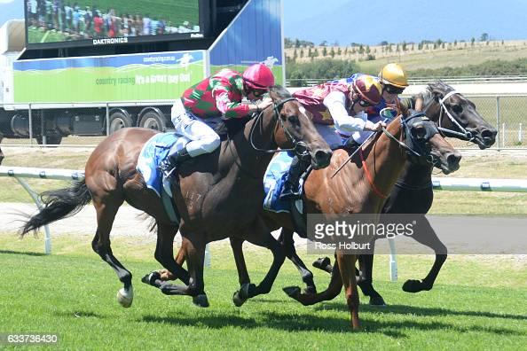 Back in a Flash ridden by Rose Pearson wins Blacky's Bucks Maiden Plate at Yarra Valley Racecourse on February 04 2017 in Yarra Glen Australia