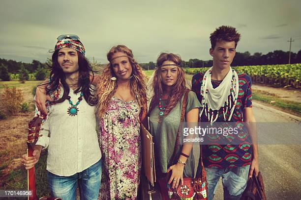 Back in the 70s: hippies go wild