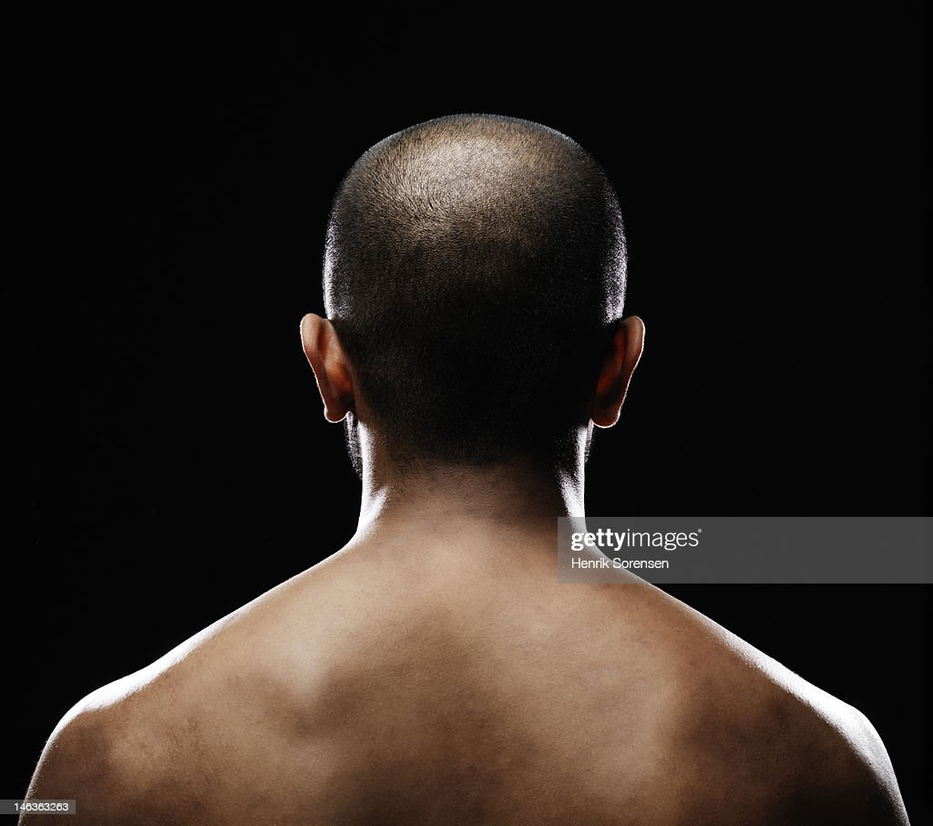 back of a young man : Stock Photo