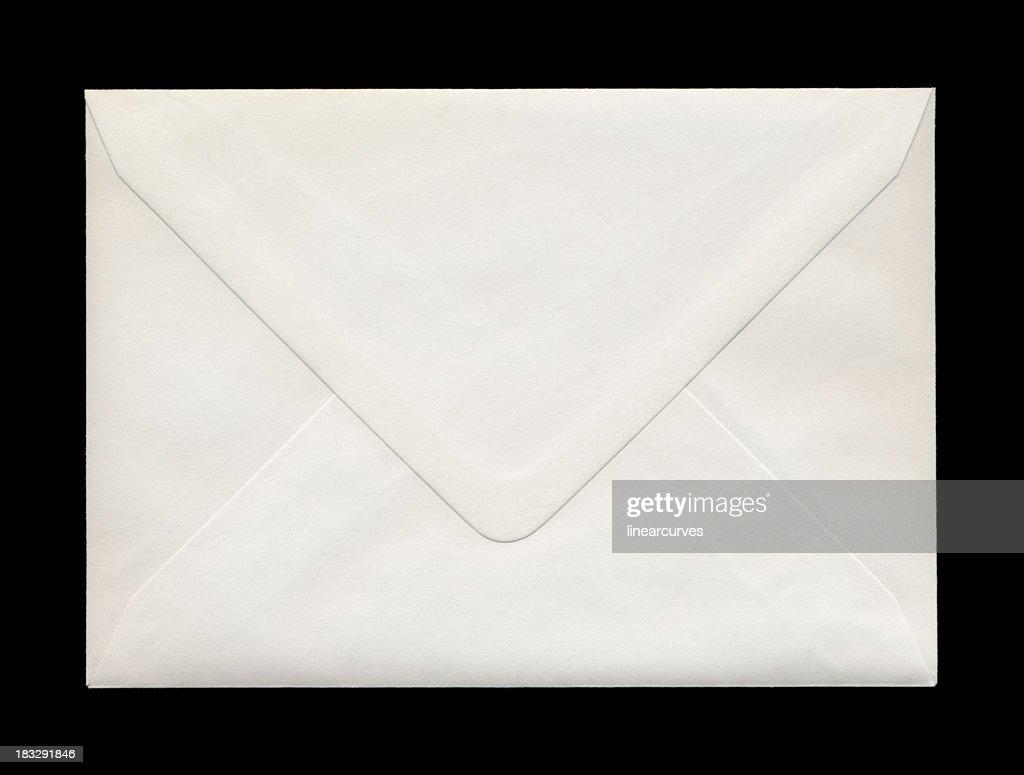 Retro della busta chiusa : Foto stock