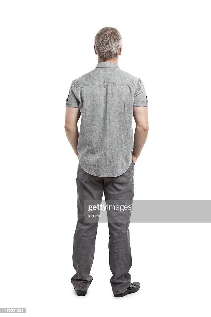 Rückseite der Junger Erwachsener : Stock-Foto