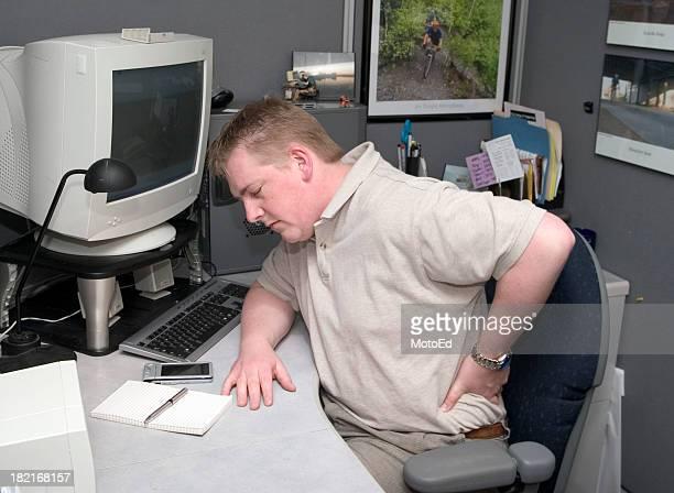Mal di schiena-al lavoro