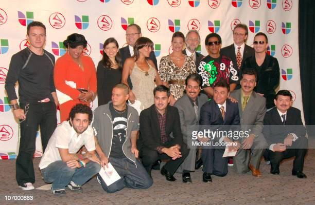 Fonseca India Andrea Arroyo Alejandra Guzman Marcos Witt Barbara Bermudo Neil Portnow Recording Academy President Tego Calderon Gabriel Abaroa...