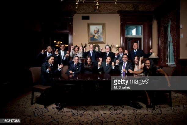 Back row left to right Ashlee Davis Staff Assistant Office of Presidential Personnel the White House Ven Neralla Director of Congressional Affairs...