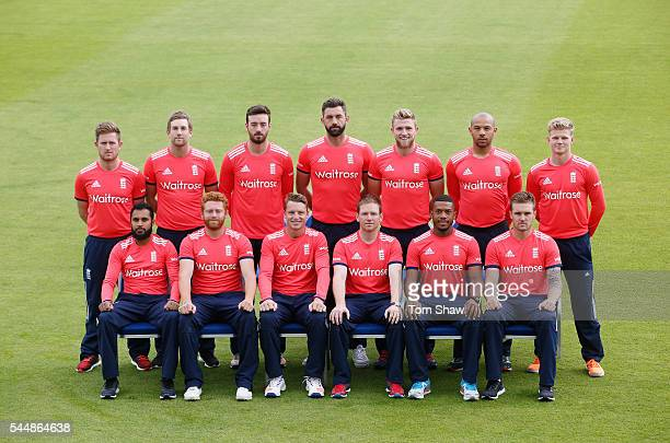 Back Row Liam Dawson Dawid Malan James Vince Liam Plunkett David Willey Tymal Mills Sam Billings Front Row Adil Rashid Jonny Bairstow Jos Buttler...