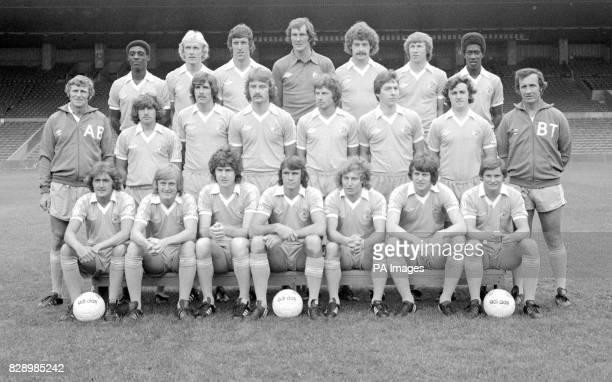 Roger Palmer Paul Futcher Tommy Booth Joe Corrigan Kenny Clements Colin Bell and David Bennett Middle Row Tony Book Gary Buckley Paul Power Tony...