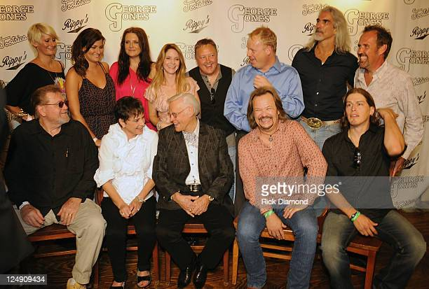 Back Row Singers and Songwriters The McClymonts Mollie McClymont Sam McClymont Brooke McClymont Elaine Roy of The Roys Guest Darrin Vincent of Dailey...