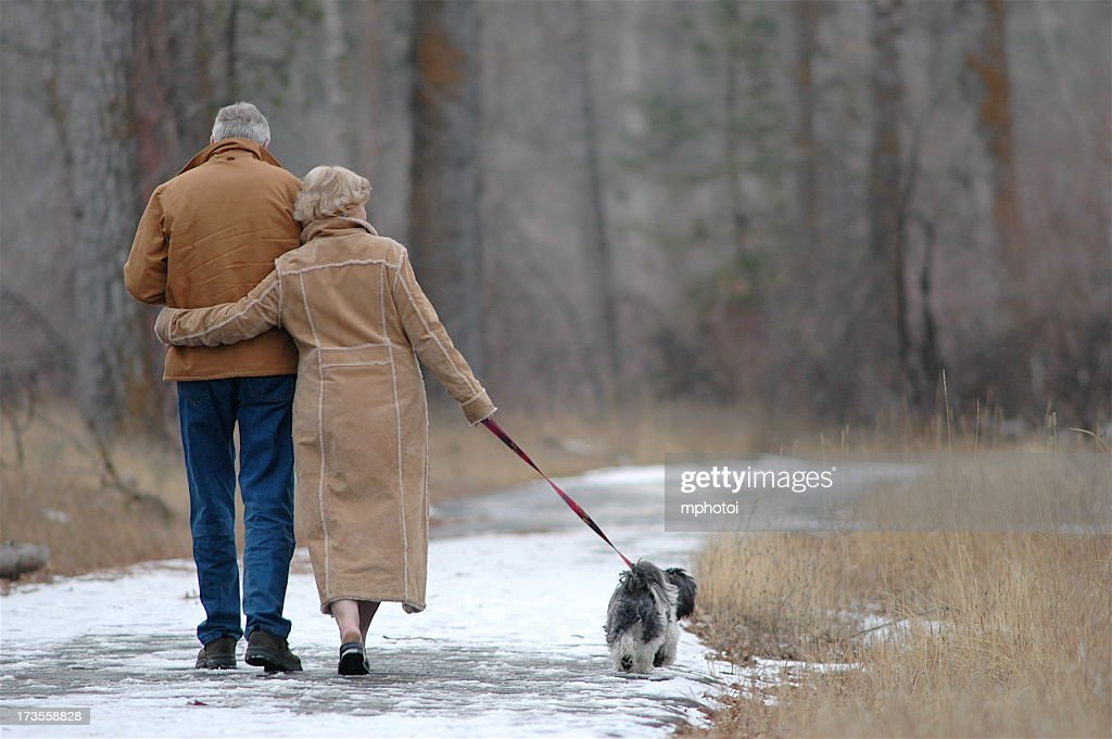 Couple Walking On Trail Stock Photos, Royalty-Free Images ...