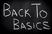 Back to basics on chalkboard