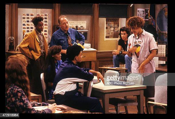 CLASS 'Back to School' Airdate September 27 1989 LR KHRYSTYNE HAJEDE