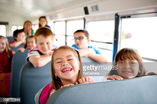 Back to School Bus : Stock Photo