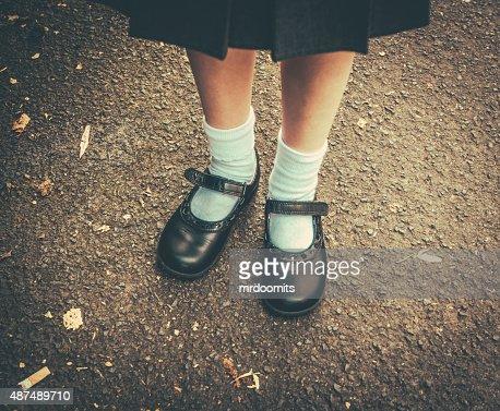 Back To School Girl : Stock Photo