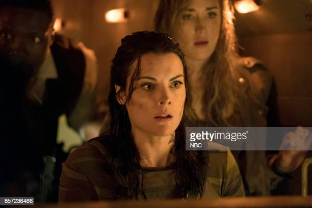 BLINDSPOT Back to the Grind' Episode 301 Pictured Jaimie Alexander as Jane Doe Ashley Johnson as Patterson