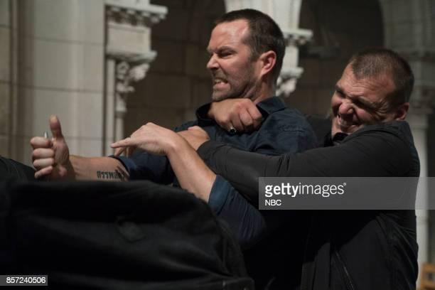 BLINDSPOT Back to the Grind' Episode 301 Pictured Sullivan Stapleton as Kurt Weller