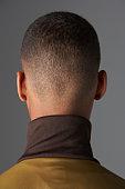 Back View Of Teenage Boy's Head