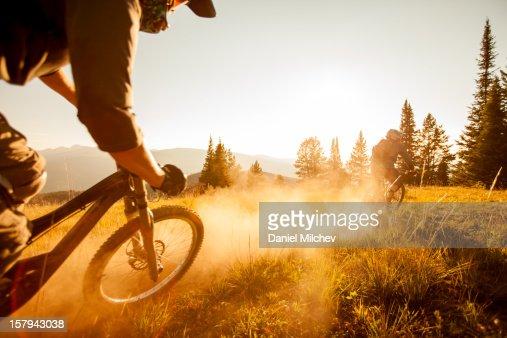 Backcountry bike ride.