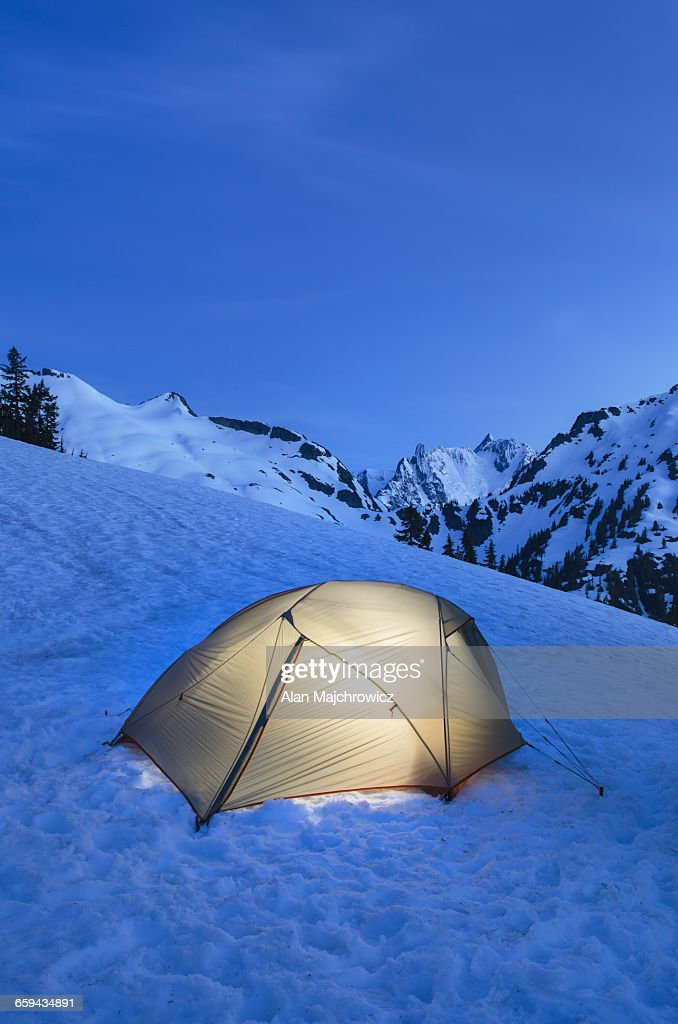 Backcountry camp North Cascades
