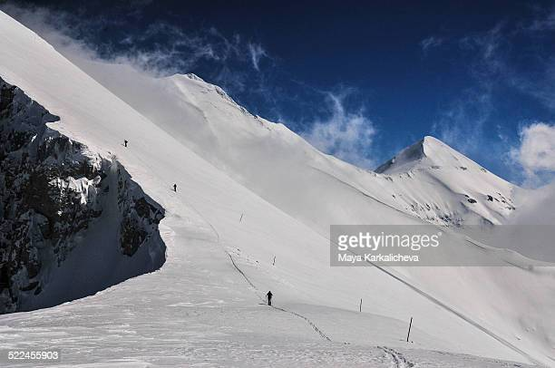 Backcountry ski in Pirin mountains, Bulgaria