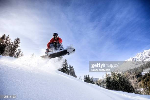 Backcountry Snowboarderin