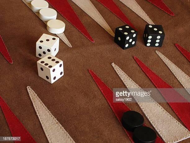 Backgammon Brettspiel Würfel