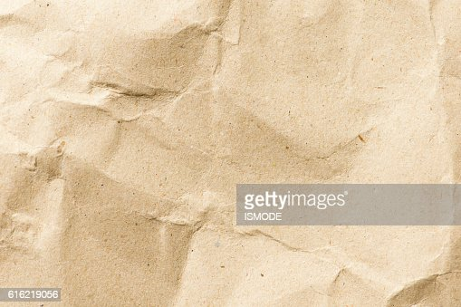 background and texture of crumpled paper : Stock Photo
