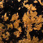 background black gold spots