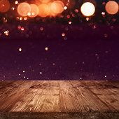 Background with red bokeh for a celebration with a concept