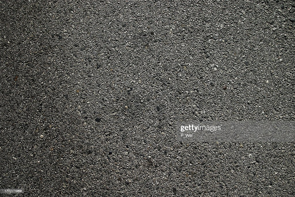 Background: Freshly Pressed Asphalt Blacktop