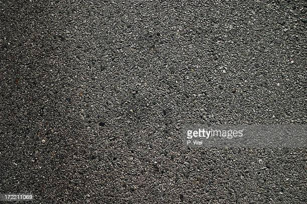 Hintergrund: Frisch gepressten Asphalt Blacktop