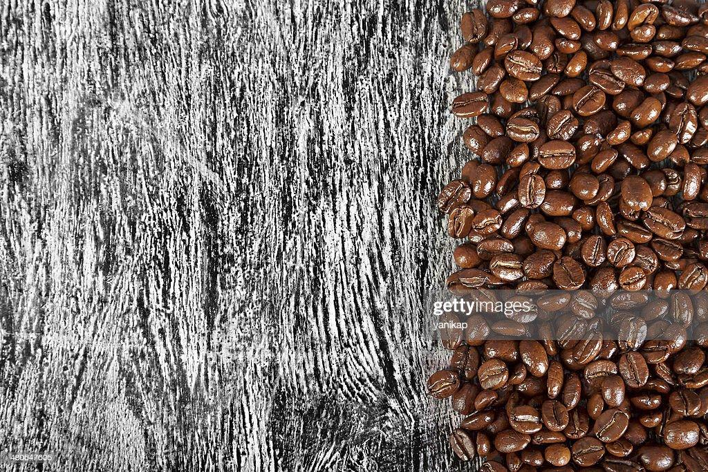 Fundo de grãos de café : Foto de stock