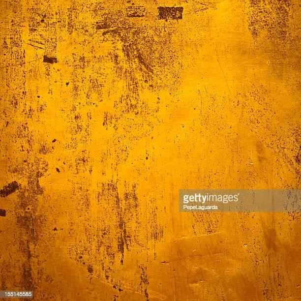 Background: Golden grunge texture