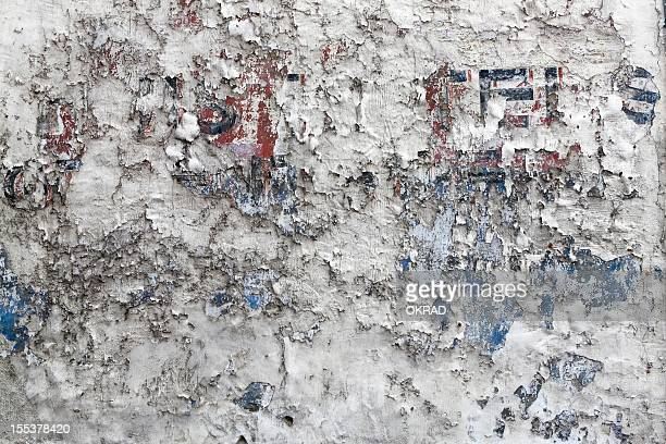 Background Grungy Distressed wall with Letters