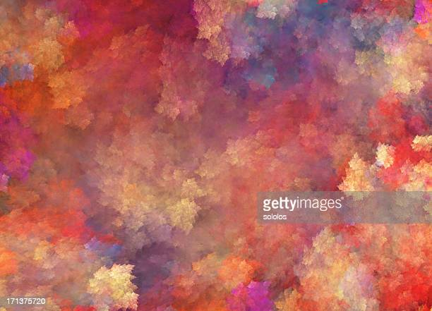 Background in Impressionism style with many colors