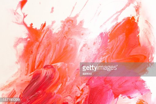 Background linen red
