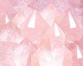 Background macro cristals mineral stones-pink quartz