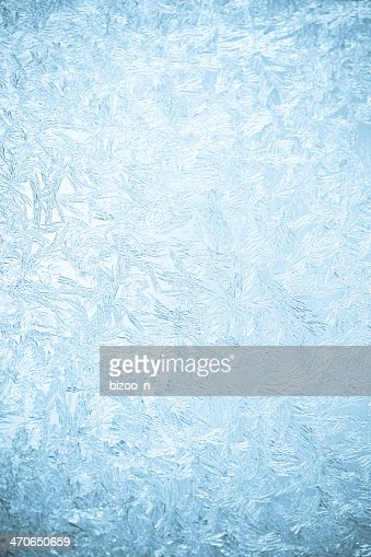 Background of a frosted over window : Stock Photo